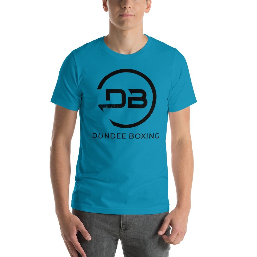 Team Dundee Boxing Men's T-Shirt , Black Logo