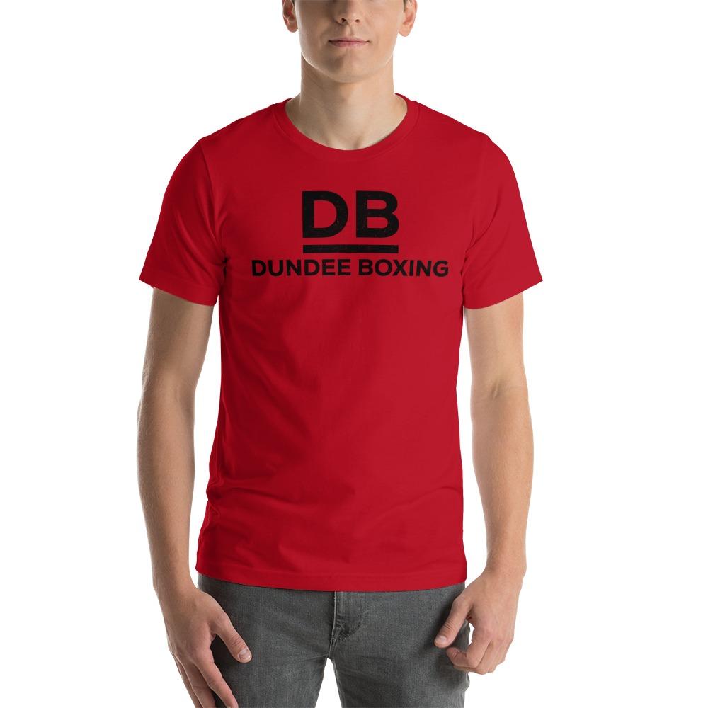 Dundee Boxing Men's T-Shirt , Black Logo