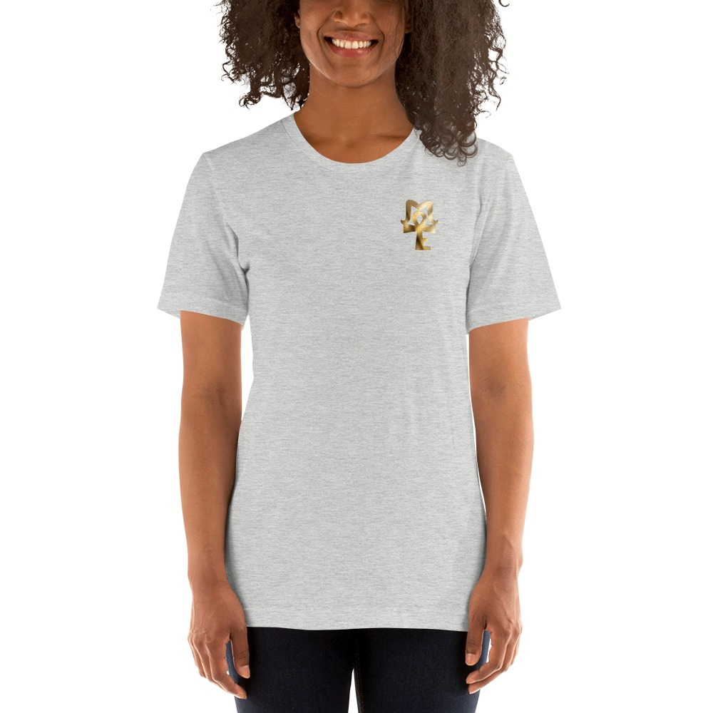 AJ McKee Pendulum Front Chest, To Be A Champion Quote on Back - Women's T-Shirt