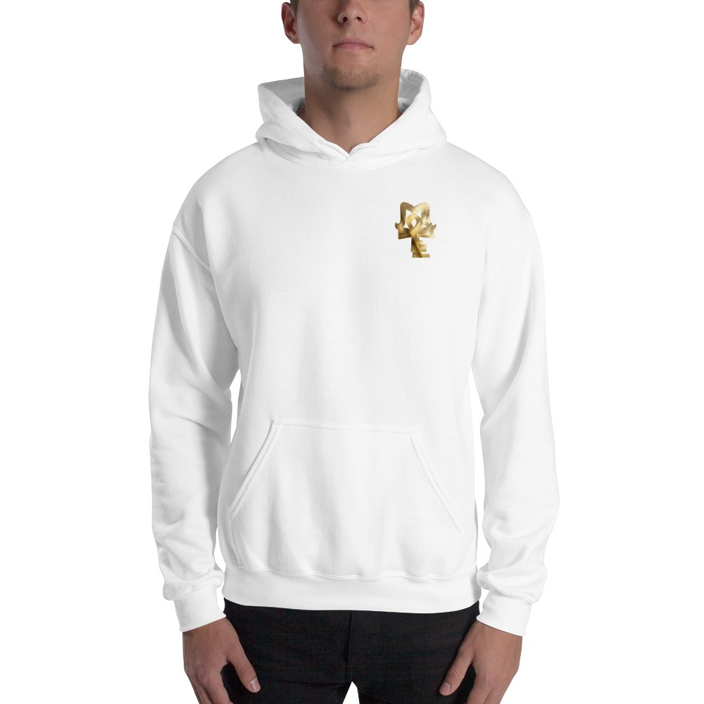AJ McKee Pendulum Front Chest, To Be A Champion Quote on Back - Men's Hoodie