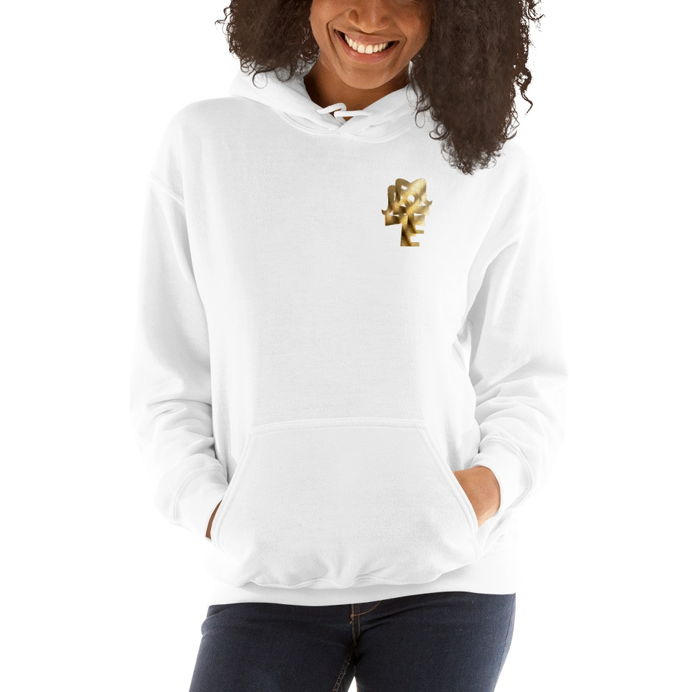 AJ McKee Pendulum Front Chest, To Be A Champion Quote on Back - Women's Hoodie