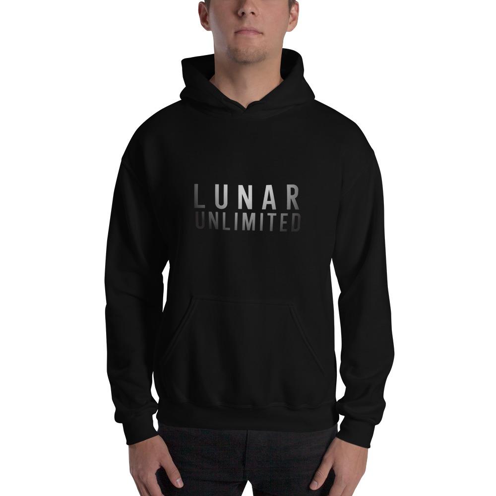 Lunar Unlimited by Amun Cosme, Men's Hoodie