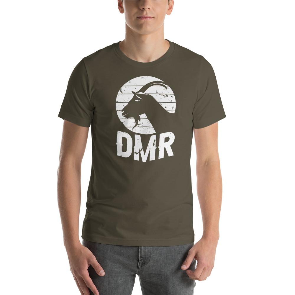 DiQuinn Ryals Men's T-Shirt, White Logo