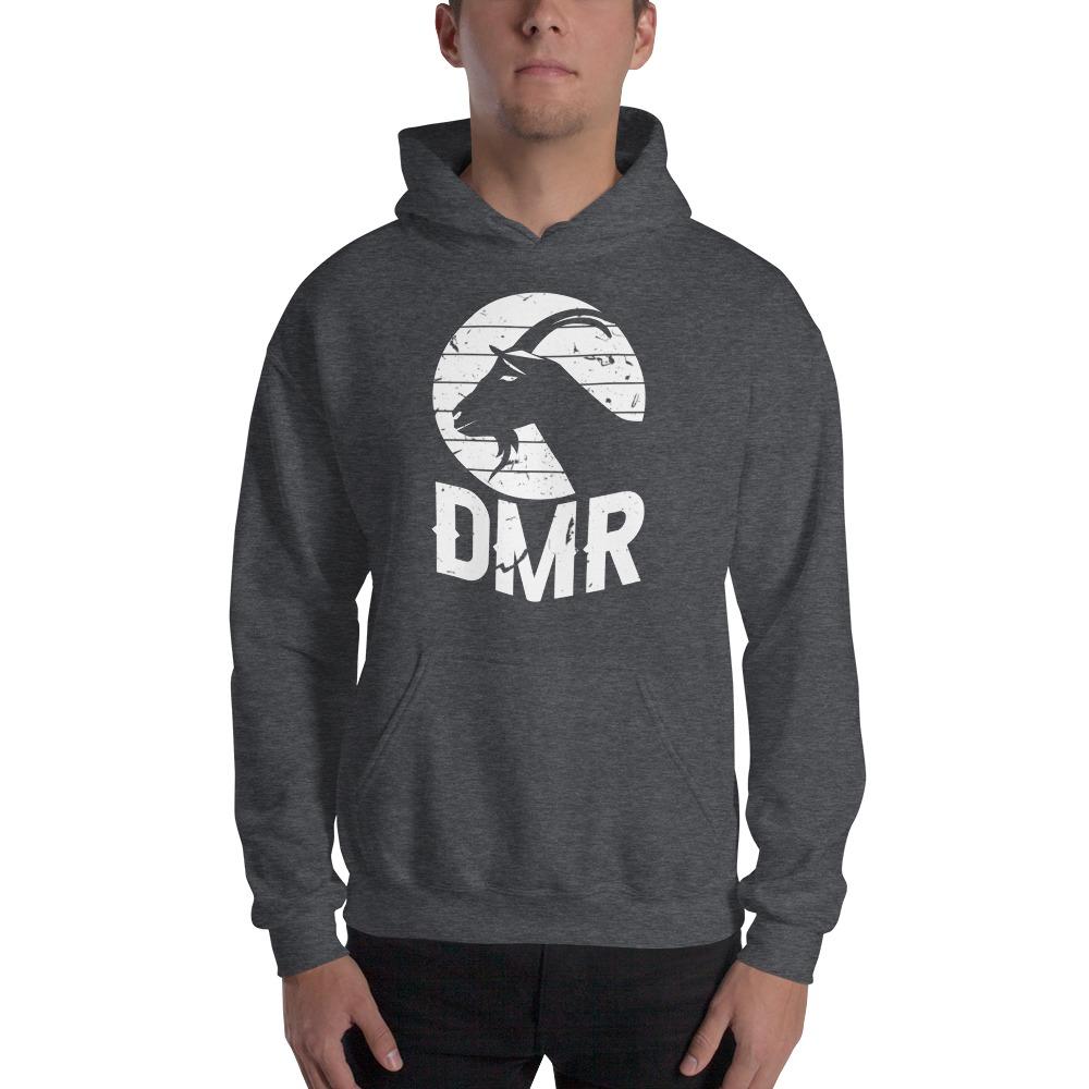 DiQuinn Ryals Men's Hoodie, White Logo