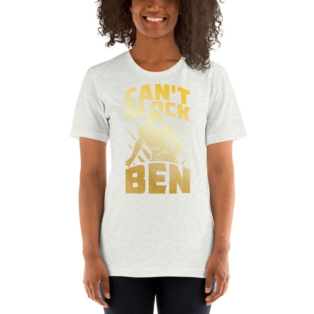 """""""Can't Block Ben"""" by Ben Desmarais Women's T-Shirt, Gold Logo"""