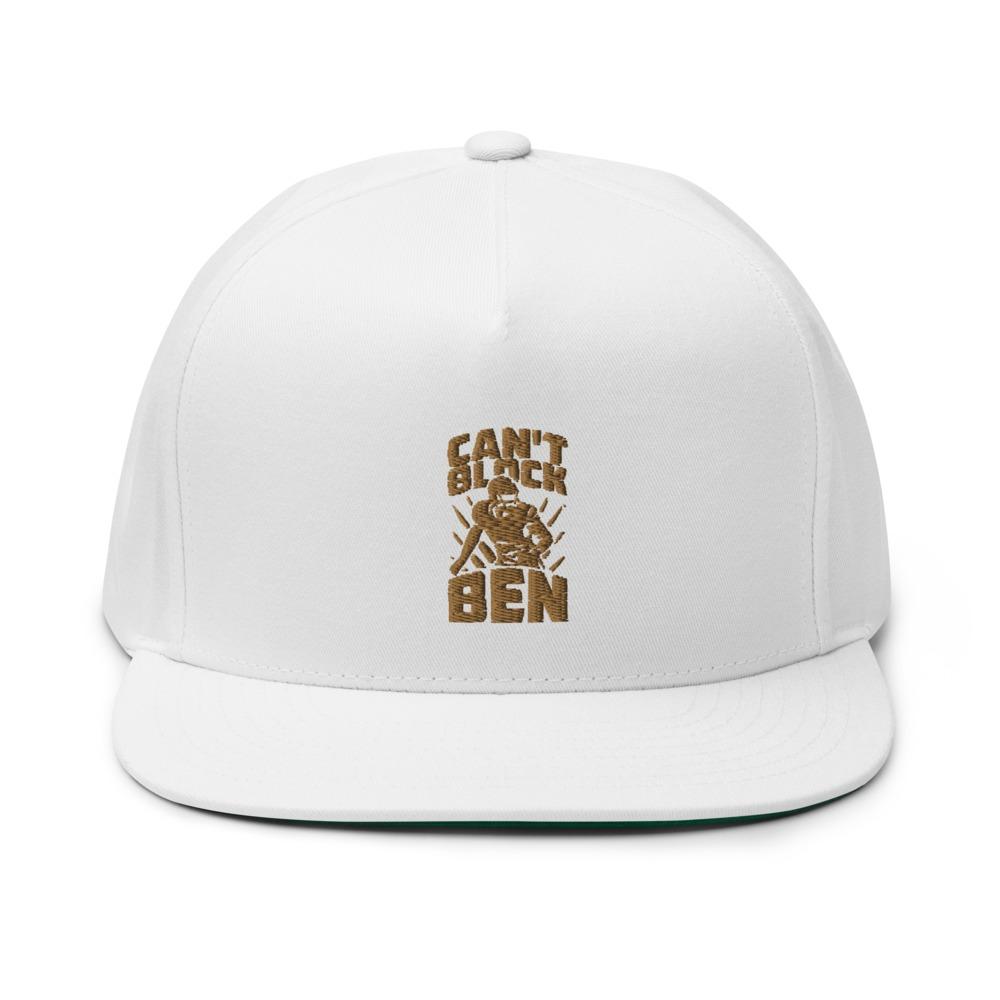 """""""Can't Block Ben"""" by Ben Desmarais Hat, Gold Logo"""