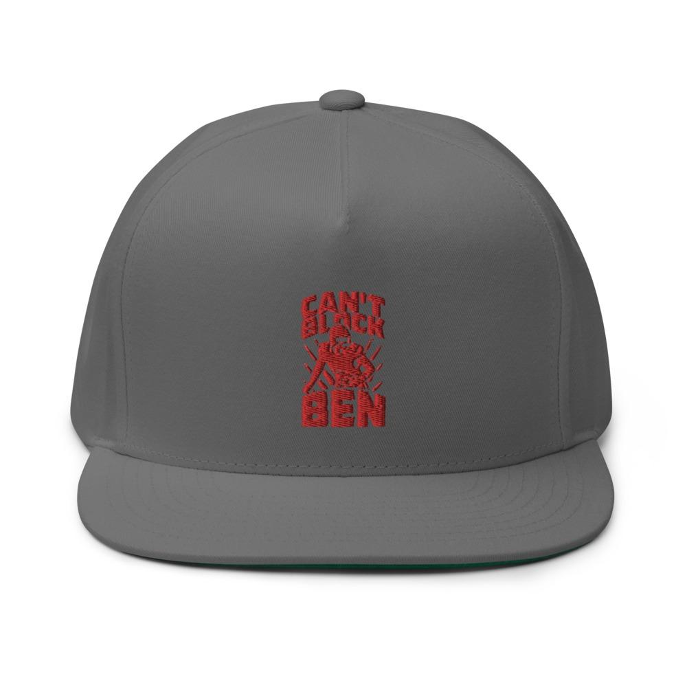 """""""Can't Block Ben"""" by Ben Desmarais Hat, Red Logo"""