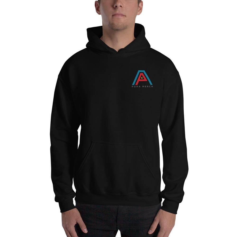 AP Merch by Alex Popa, Men's Hoodie, Mini Logo