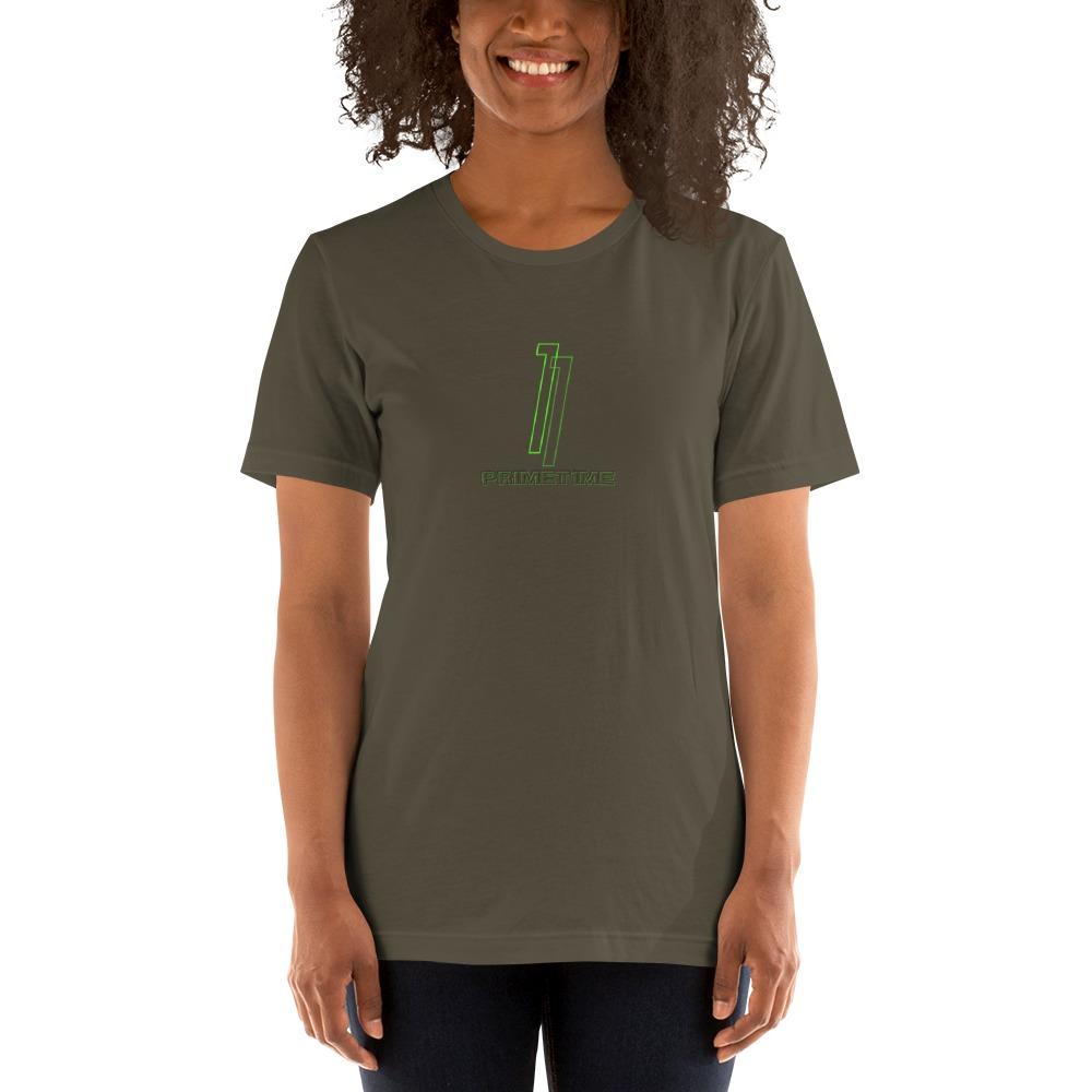 Primetime1 by Darian Littlejohn Women's T-Shirt, Neon Logo