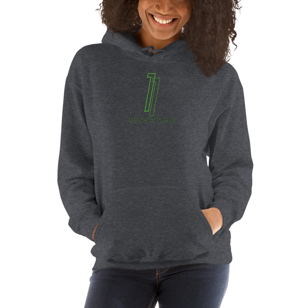 Primetime1 by Darian Littlejohn Women's Hoodie, Neon Logo