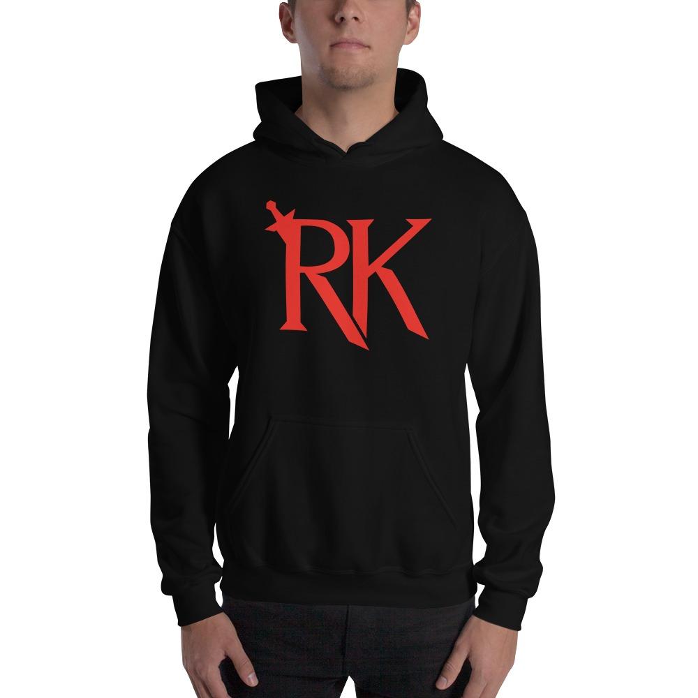 RK Men's Hoodie - Red Logo
