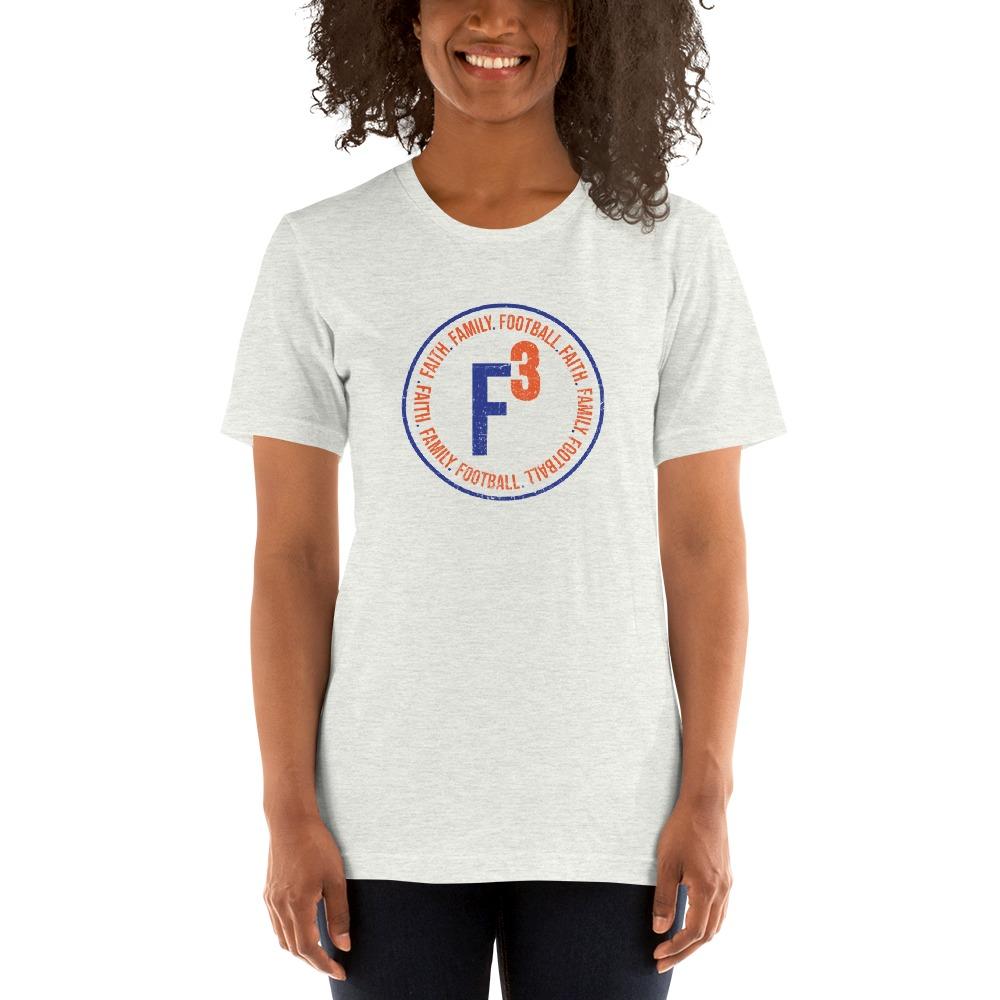 Faith, Family and Football by Coleman Bennett, Women's T-Shirt, Circle Logo