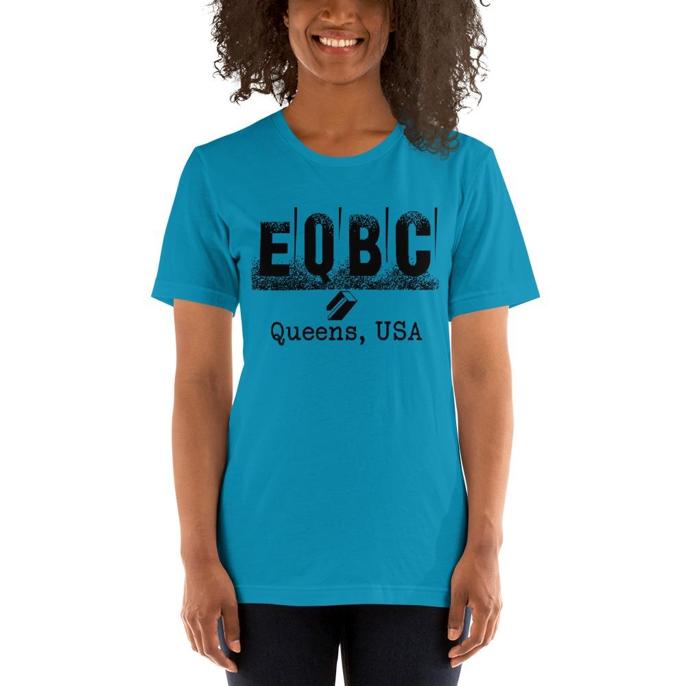 EQBC by Al Alvir Women's T-Shirt , Black Logo