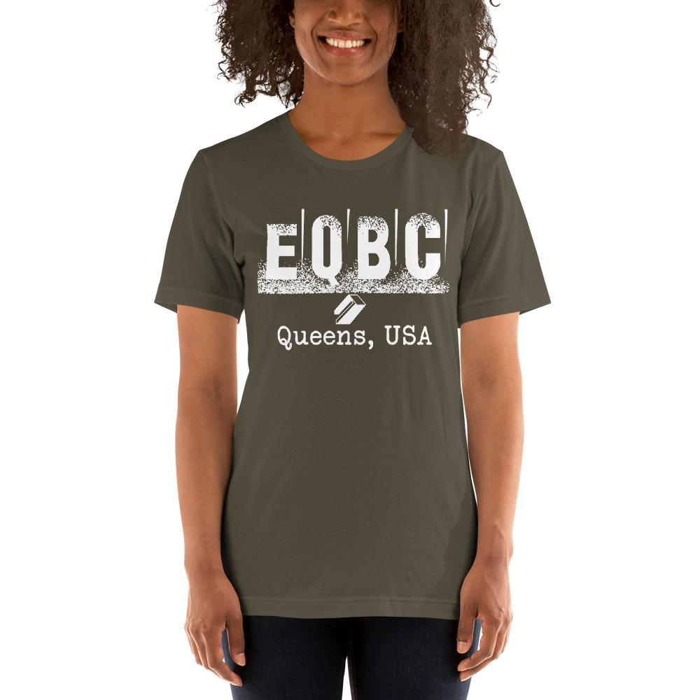 EQBC by Al Alvir Women's T-Shirt , White Logo
