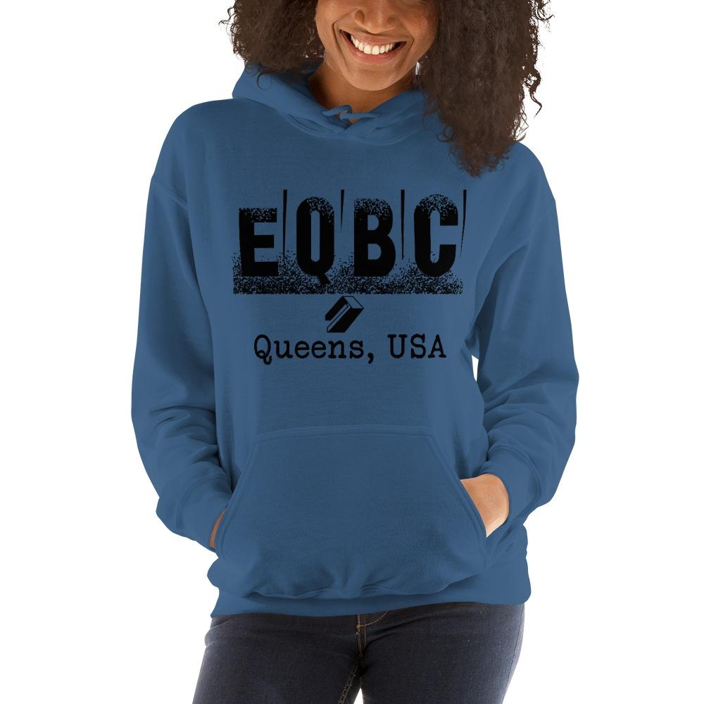 EQBC by Al Alvir Women's Hoodie , Black Logo