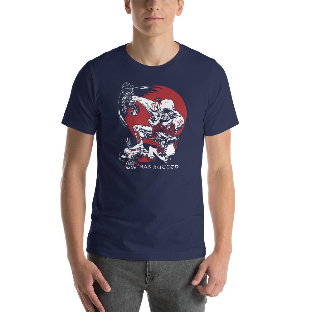 Bas Rutten Exclusive, Men's T-Shirt, Light Logo