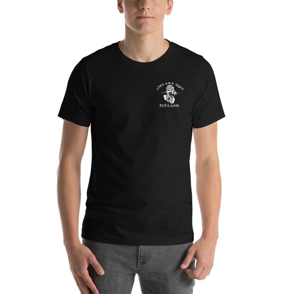 Chikara Gym by Bas Rutten, Men's T-Shirt, Light Logo