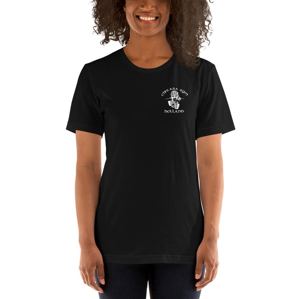 Chikara Gym by Bas Rutten, Women's T-Shirt, Light Logo