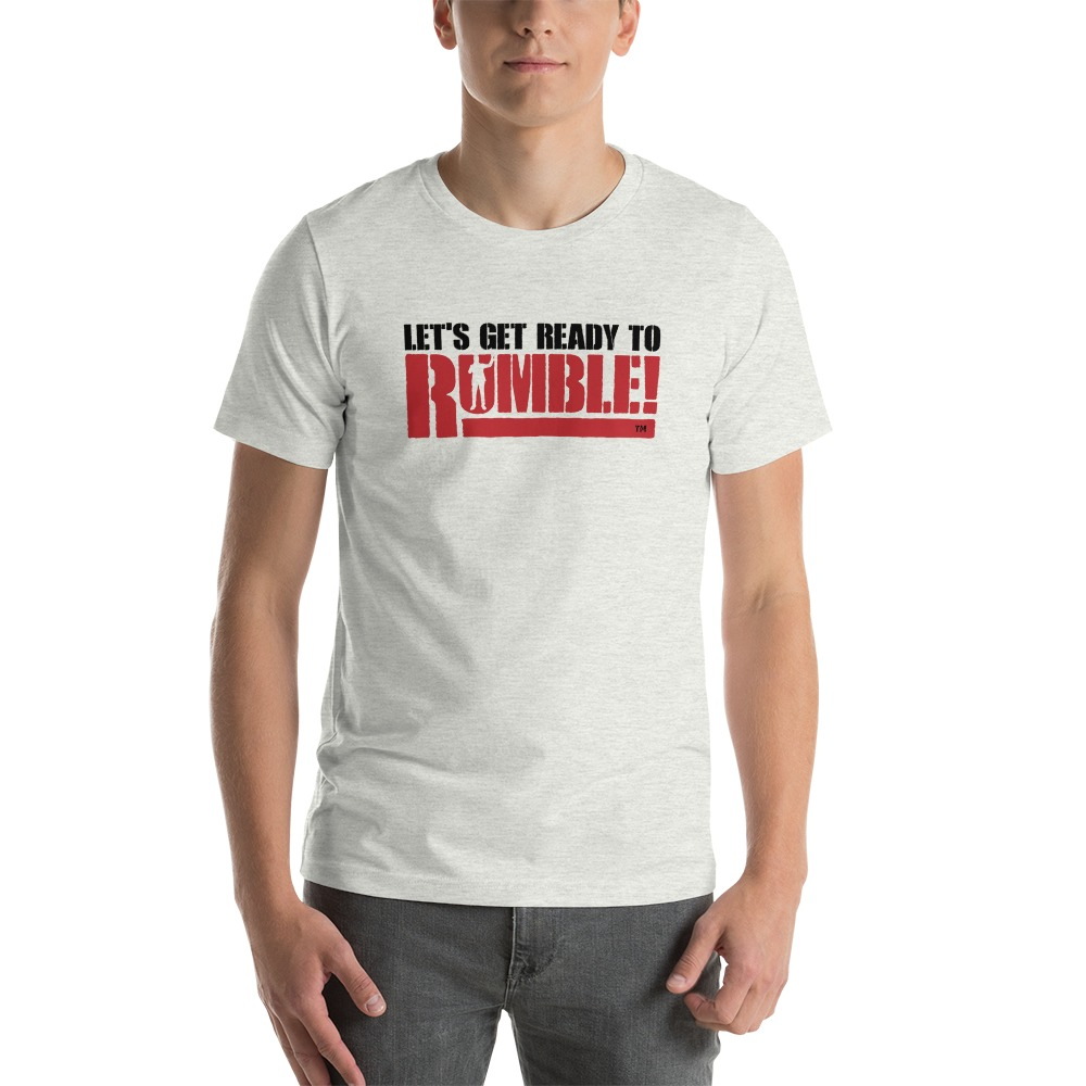 Let's get ready to rumble!™ by Michael Buffer, Men's T-Shirt, Dark Logo