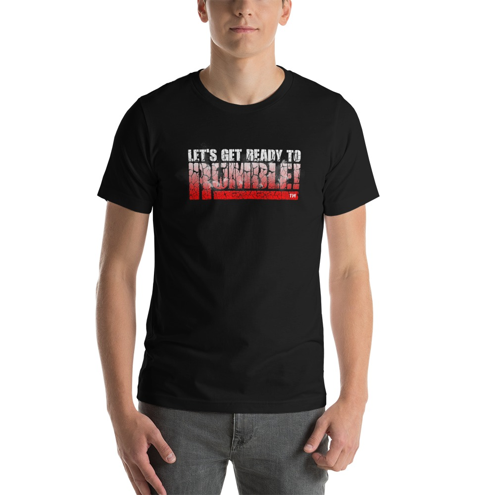 Special Edition, Let's get ready to rumble!™ by Michael Buffer, Men's T-Shirt,