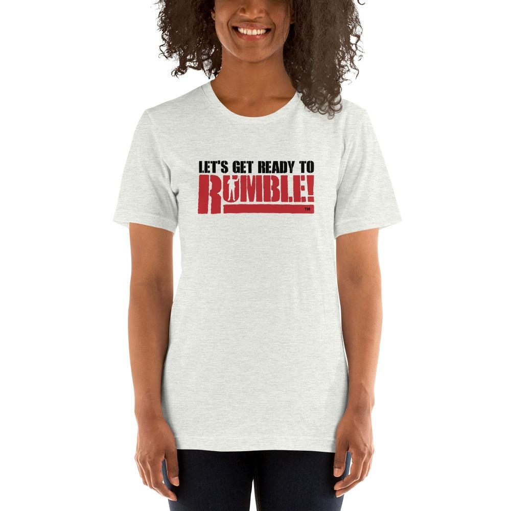 Let's get ready to rumble!™ by Michael Buffer, Women's T-Shirt, Dark Logo