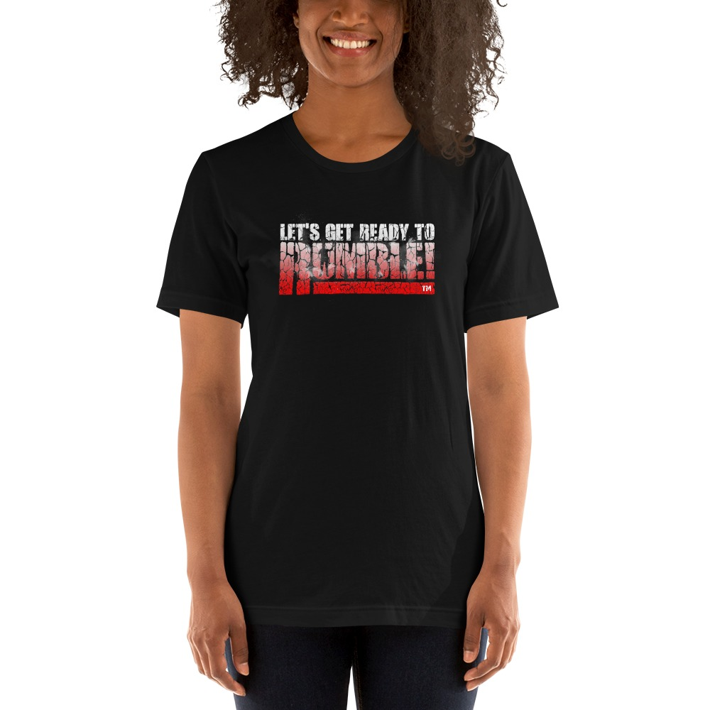 Special Edition, Let's get ready to rumble!™ by Michael Buffer, Women's T-Shirt
