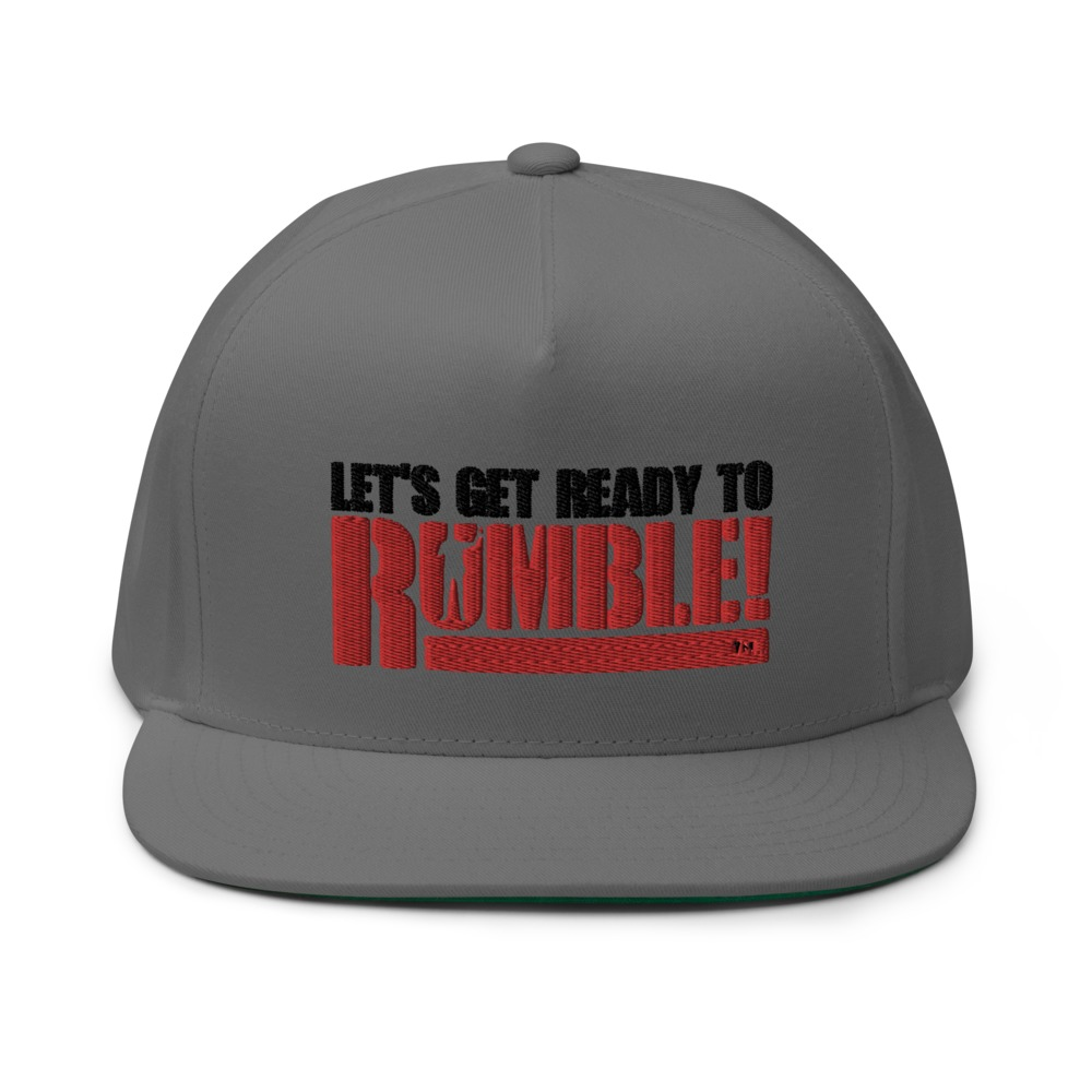 Let's get ready to rumble!™ by Michael Buffer Hat, Dark Logo