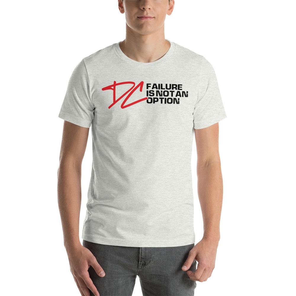 Failure is not an option V#1 by Derrick Curtis Jr Men's T-Shirt , Black Logo