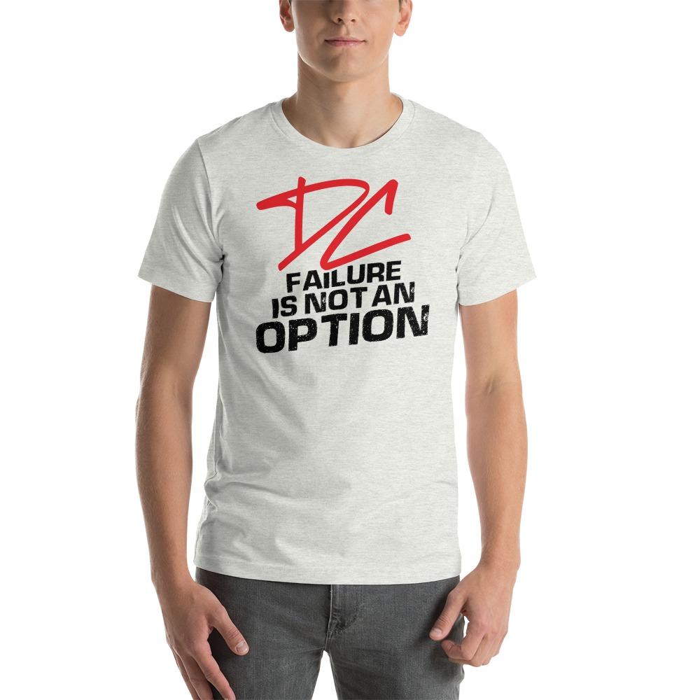 Failure is not an option V#2 by Derrick Curtis Jr Men's T-Shirt , Black Logo