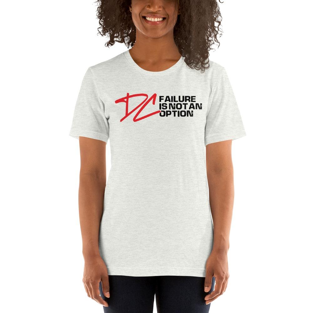 Failure is not an option V#1 by Derrick Curtis Jr Women's T-Shirt , Black Logo