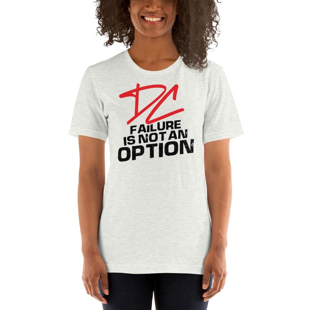 Failure is not an option V#2 by Derrick Curtis Jr Women's T-Shirt , Black Logo