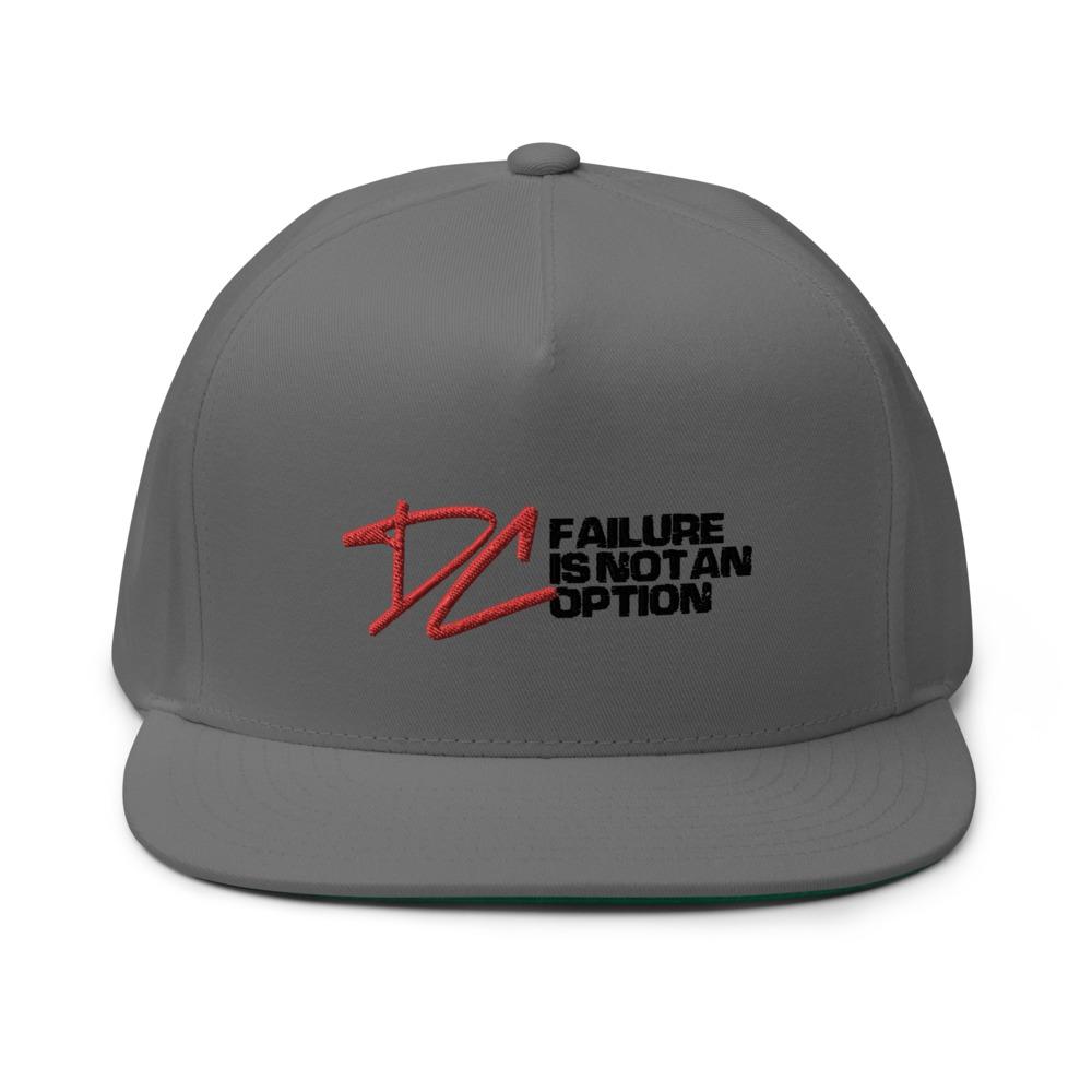 Failure is not an option V#1 by Derrick Curtis Jr Hat, Black Logo