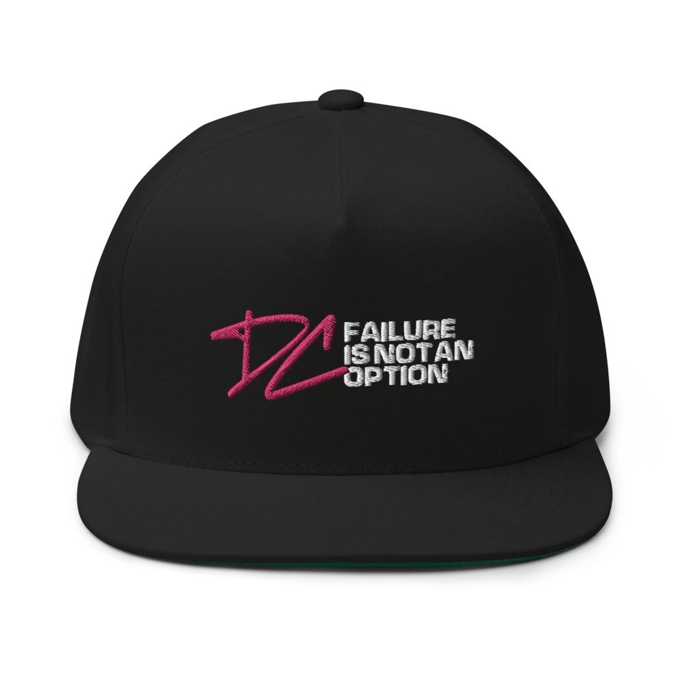 Failure is not an option V#1 by Derrick Curtis Jr Hat, White Logo