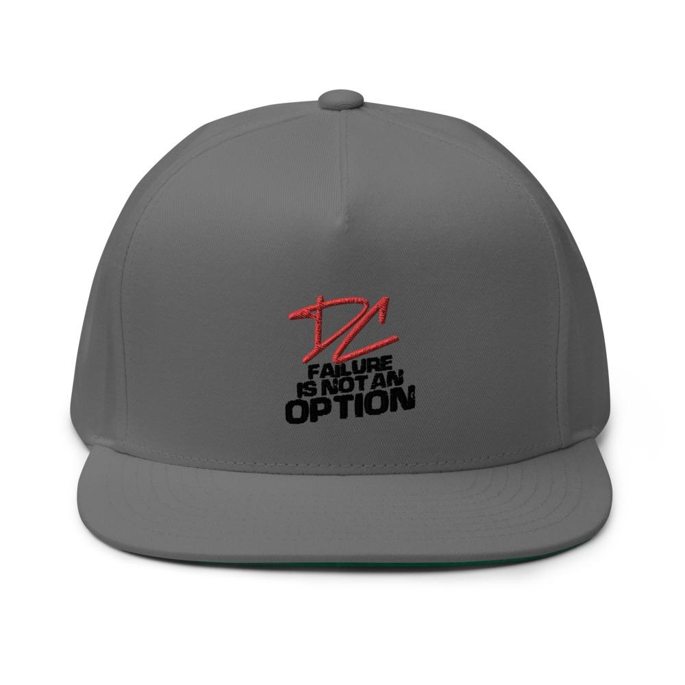 Failure is not an option V#2 by Derrick Curtis Jr Hat, Black Logo