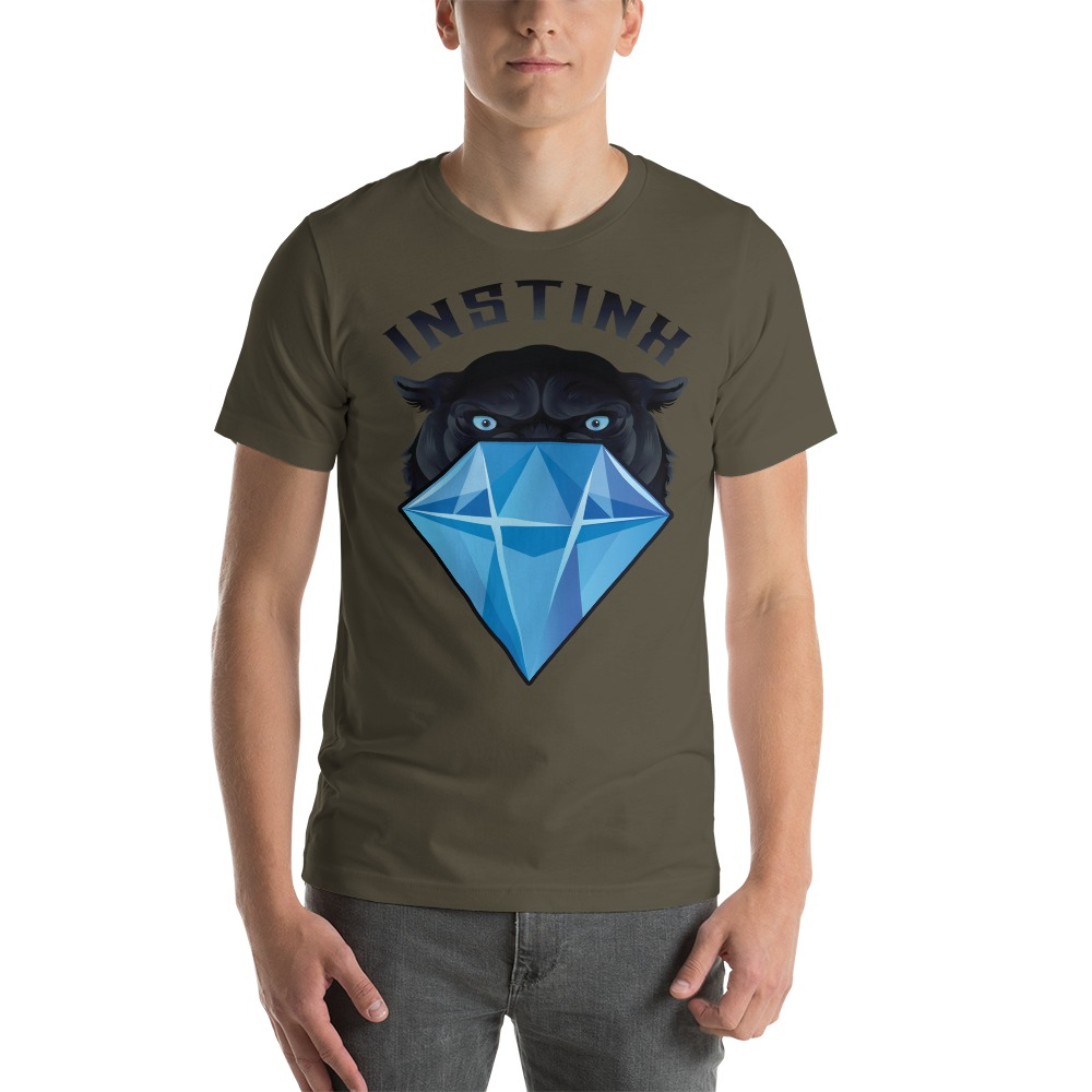 """Panther & Diamond"" by Christian Maddox Men's T-Shirt"
