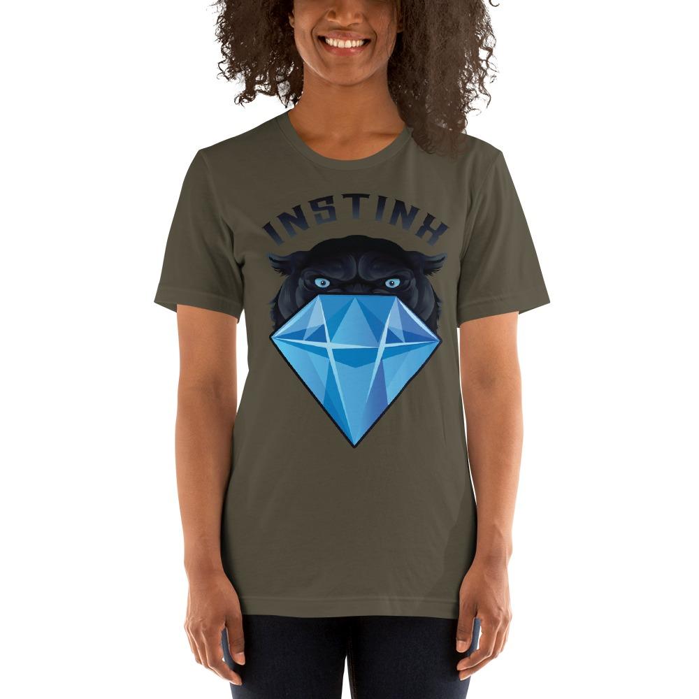 """""""Panther & Diamond"""" by Christian Maddox Women's T-Shirt"""
