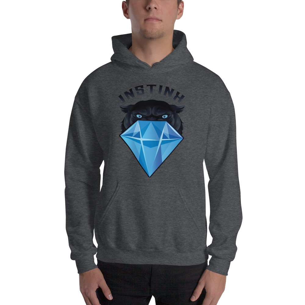 """""""Panther & Diamond"""" by Christian Maddox Men's Hoodie"""