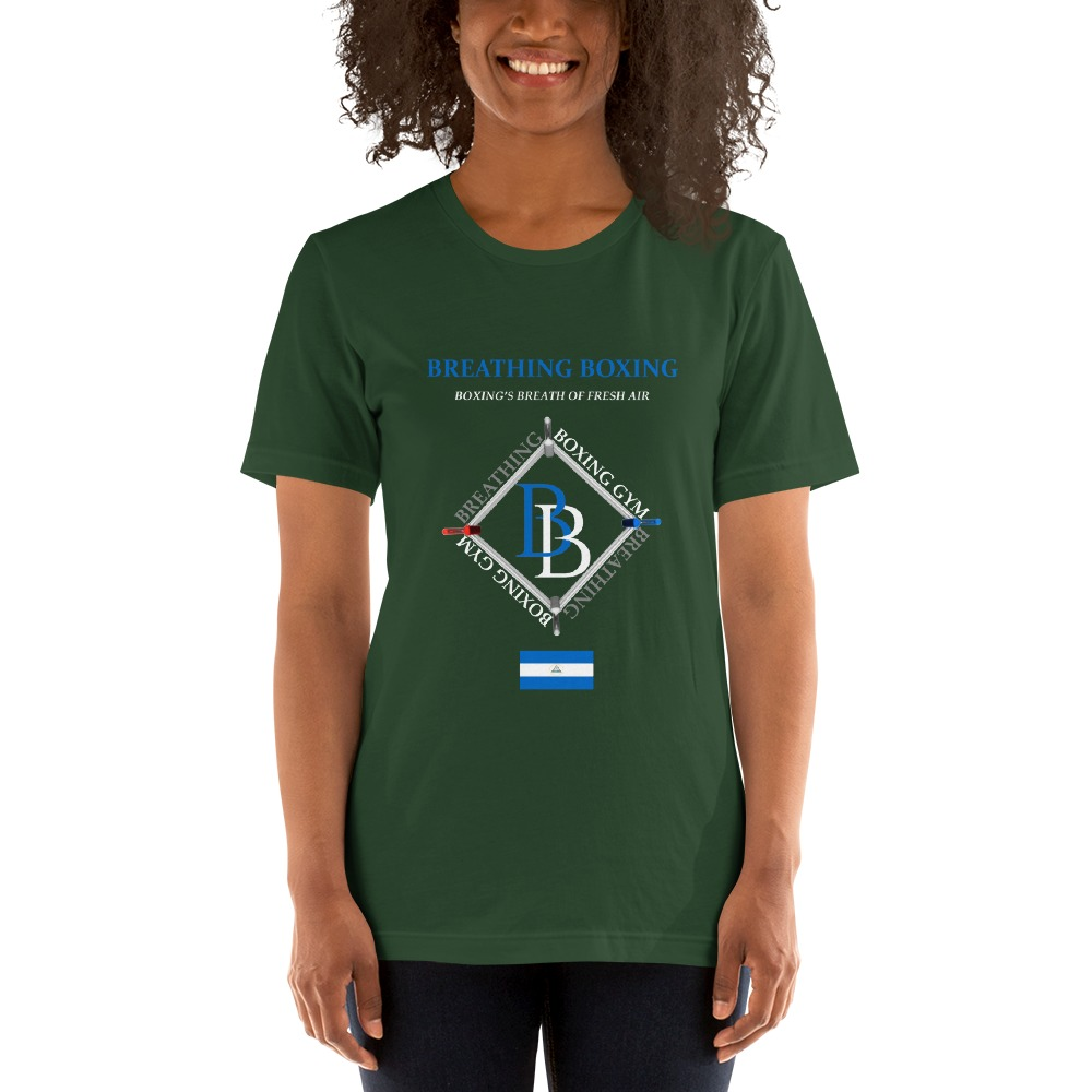 Breathing Boxing Nicaragua T-shirt