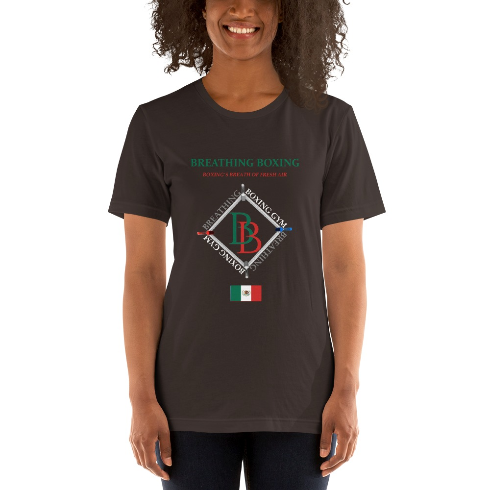 Breathing Boxing Mexico T-shirt