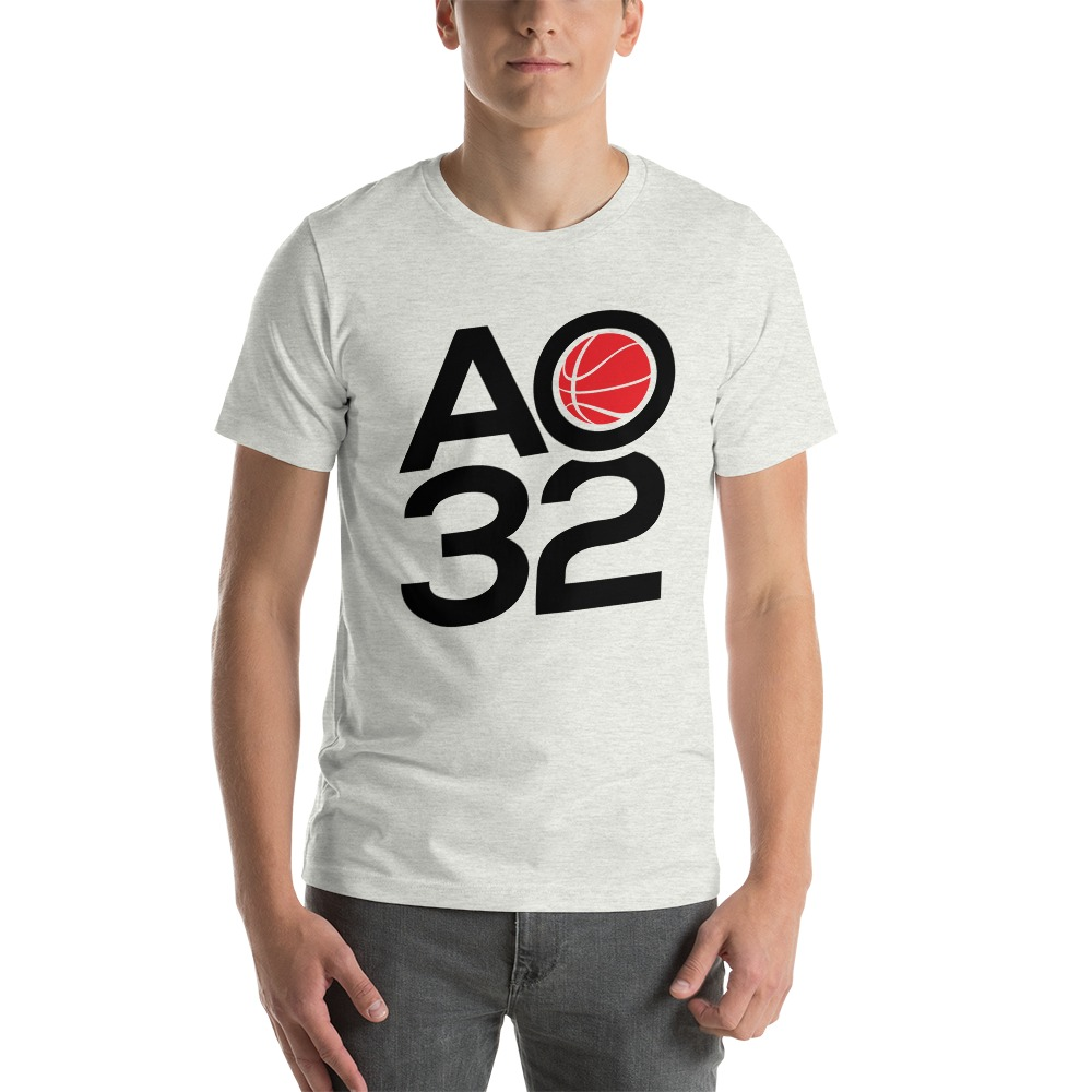 Anthony Ochefu, Men's T-Shirt, Black Logo