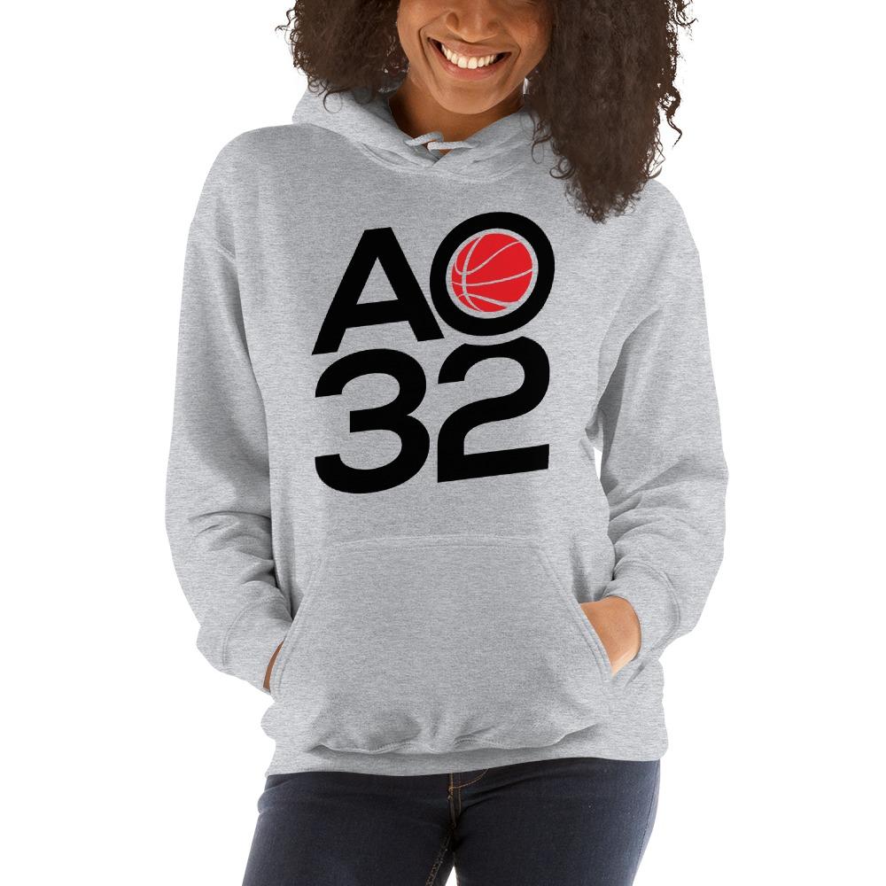 Anthony Ochefu, Women's Hoodie, Black Logo