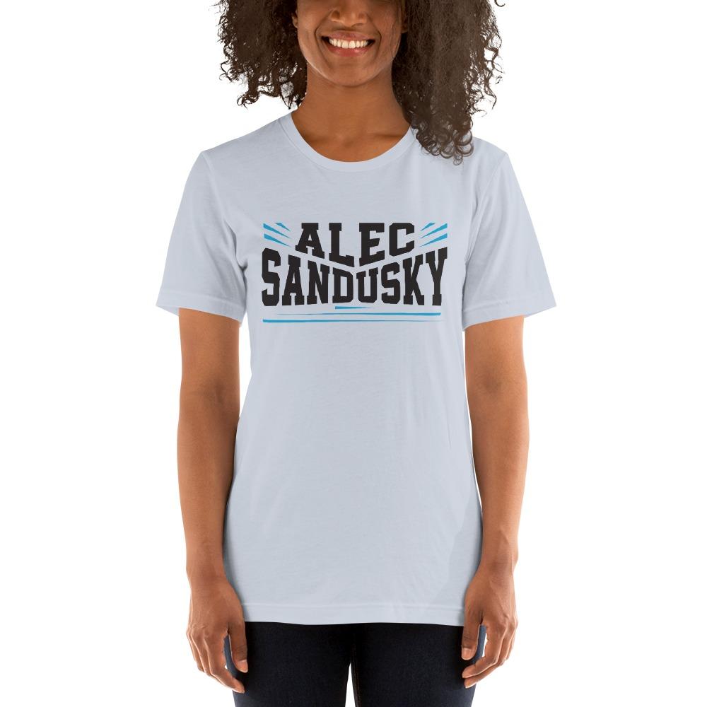 Alec Sandusky, Women's T-Shirt, Black Logo