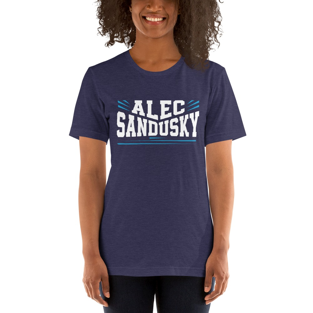 Alec Sandusky, Women's T-Shirt, White Logo