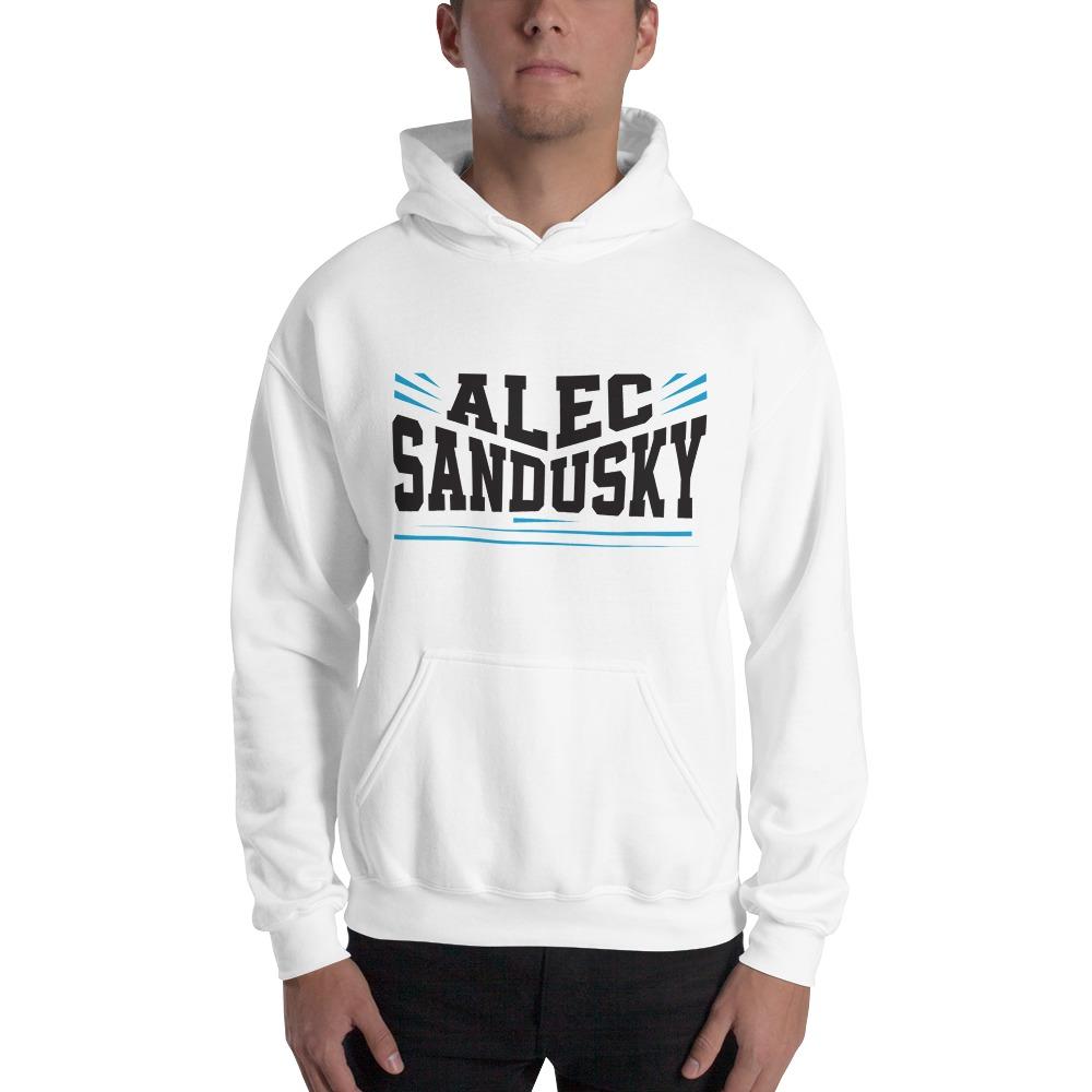 Alec Sandusky, Men's Hoodie, Black Logo