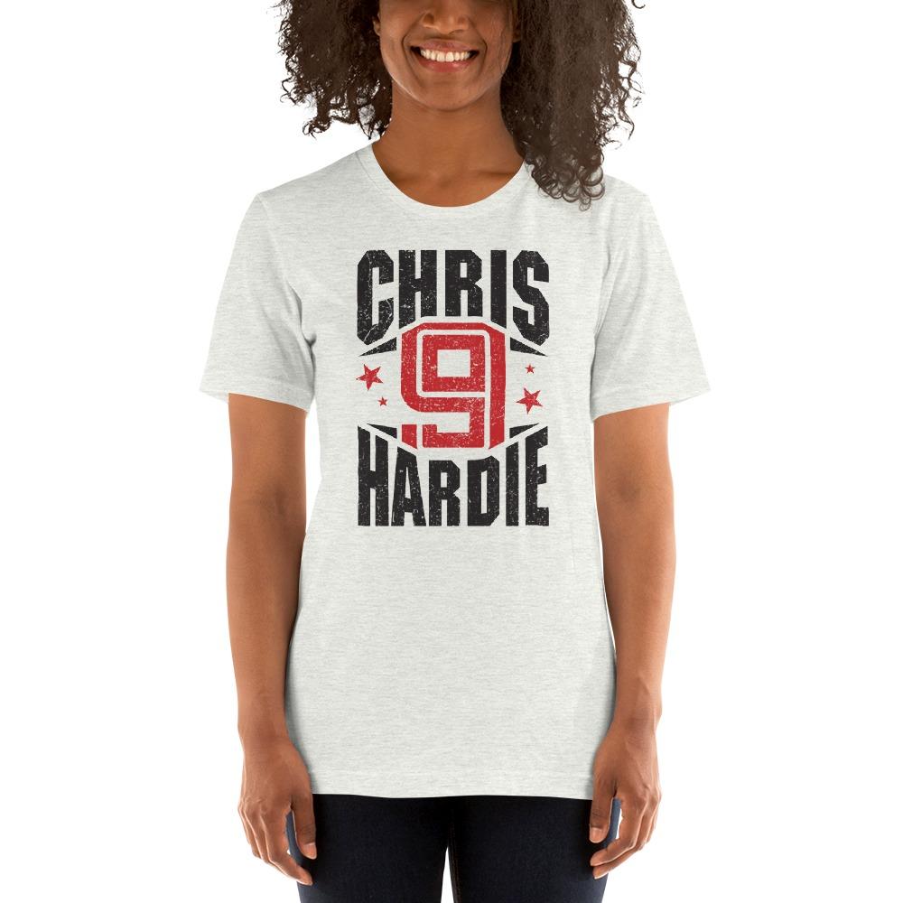 Chris Hardie, Women's T-Shirt, Black Logo