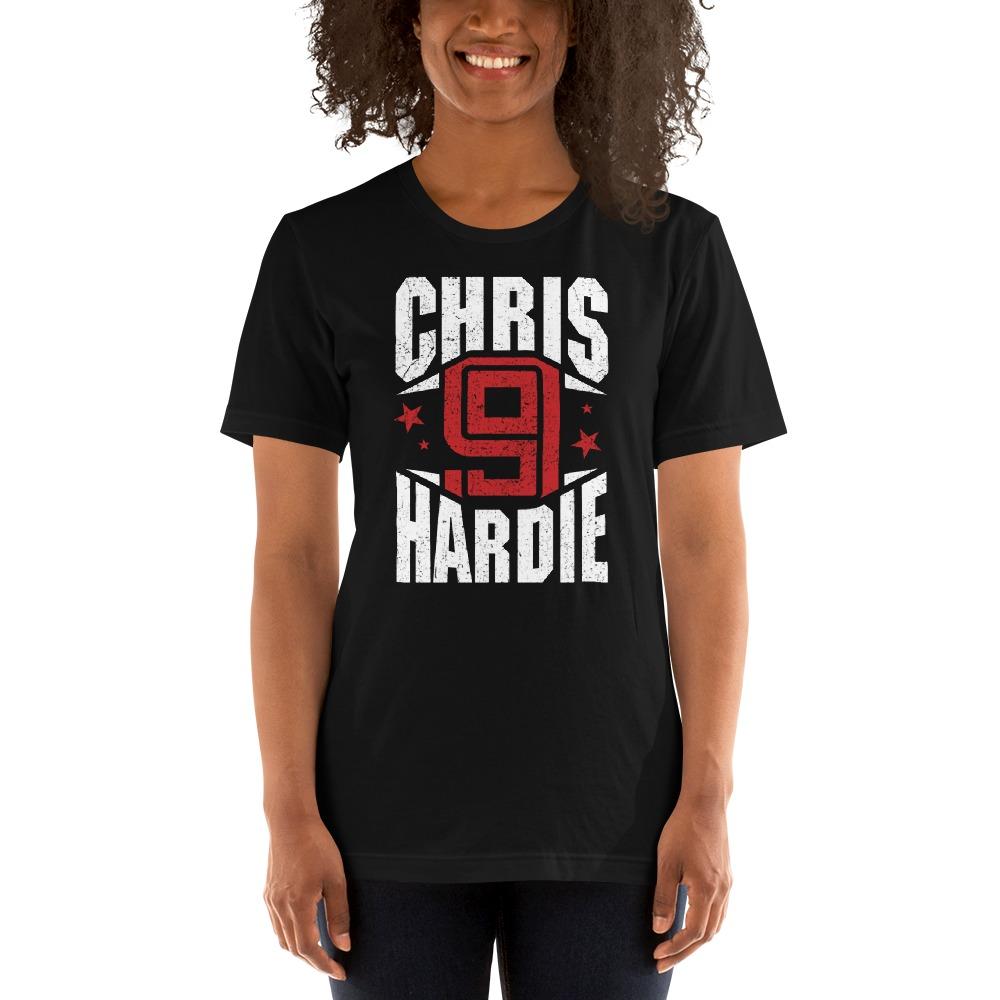 Chris Hardie, Women's T-Shirt, White Logo