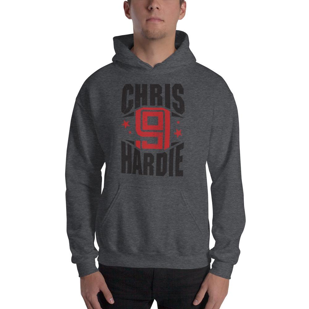 Chris Hardie, Men's Hoodie, Black Logo