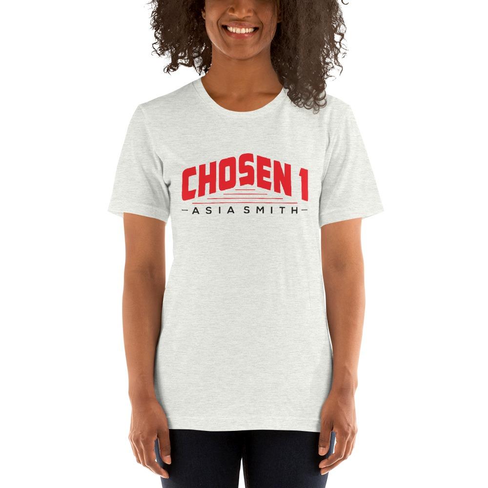 Chosen 1 by Asia Smith, Women's T-Shirt, Black Logo