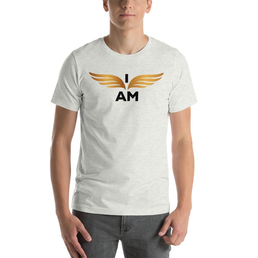 I-AM by Darran Hall Men's T-Shirt, Gold Logo