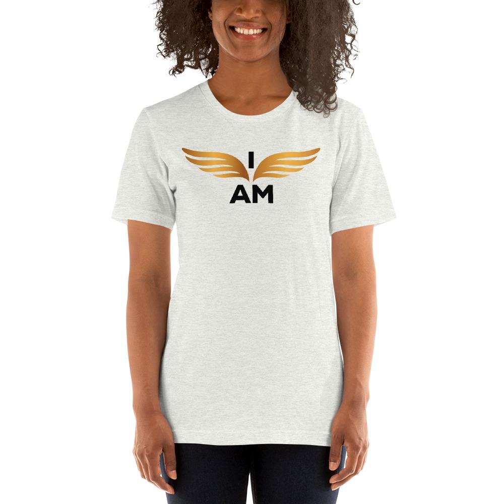 I-AM by Darran Hall Women's T-Shirt, Gold Logo